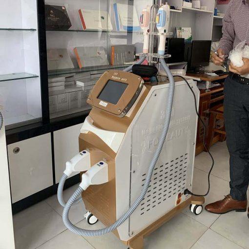 máy triệt lông 360 OPt Fq tại hà nội
