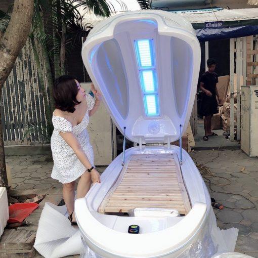 phi thuyền tắm trắng ánh sáng