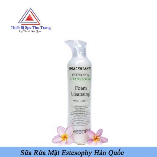 sữa rửa mặt foam Cleanning Estesophy-mỹ phẩm Estesophy