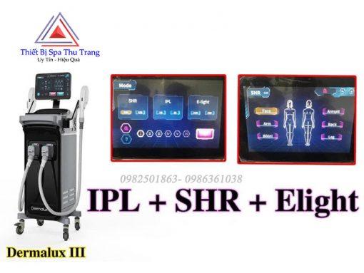 Máy Triệt lông IPL Dermalux 3 chính hãng giá rẻ